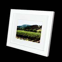 Platinum Pixs - Single Cut Photo Mat with Picture and Frame