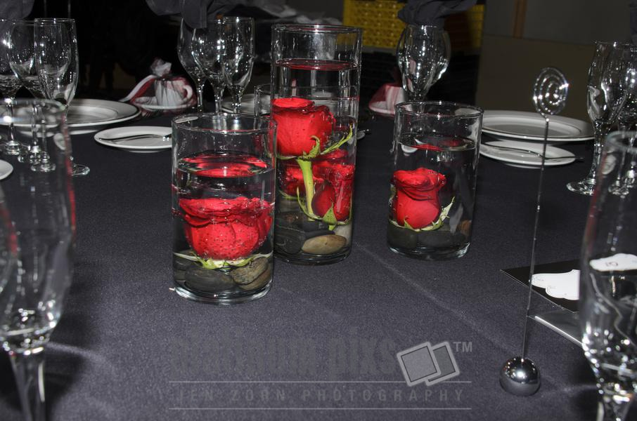 Table Setup for Wedding Reception
